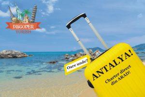 SUPER EARLY BOOKING ANTALYA 2018 – TRANSPORT AVION DIN ARAD