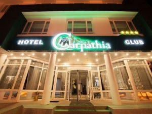 1 DECEMBRIE 2018  Hotel CARPATHIA 4* –Sinaia