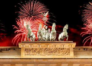 Berlinul in lumina artificiilor – Revelion 2020